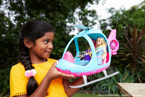 Barbie Dreamhouse Adventures Helicopters Perspective: left