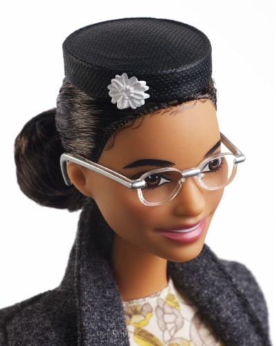 Mattel Barbie® Inspiring Women Rosa Parks Doll Perspective: left