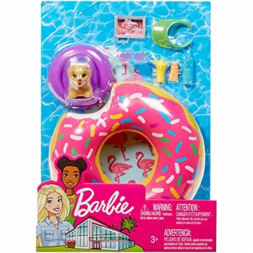 Mattel Barbie® Donut Floaty Playset Perspective: left
