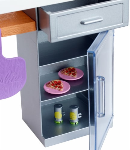 Mattel Barbie® Outdoor Furniture Brick Oven Playset Perspective: left