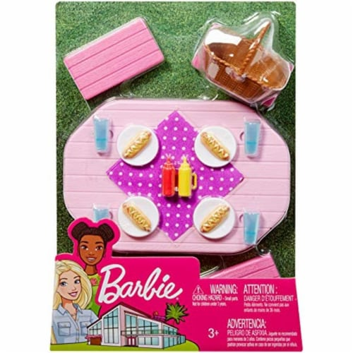Mattel Barbie® Picnic Table Playset Perspective: left