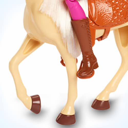 Mattel Barbie® Doll and Horse Set Perspective: left