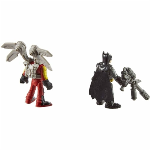 Fisher-Price Imaginext DC Super Friends - Firefly & Batman Perspective: left