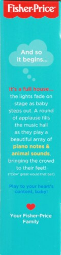 Fisher-Price® Laugh & Learn Silly Sounds Light-Up Piano Perspective: left