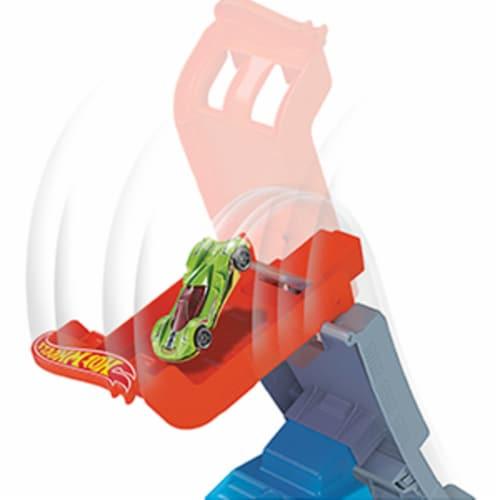 Mattel Hot Wheels® Hill Climb Champion Playset Perspective: left