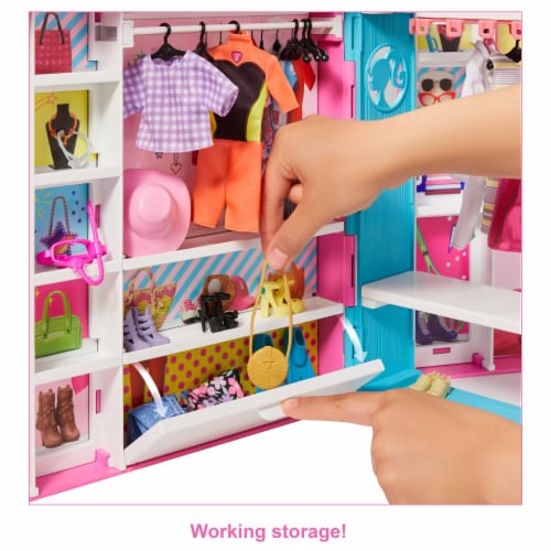 Mattel Barbie Dream Closet Playset Perspective: left