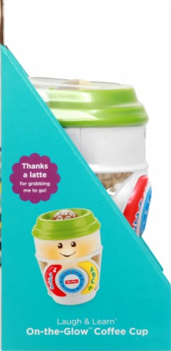 Fisher-Price® Laugh and Learn On-the-Glow Coffee Cup Perspective: left