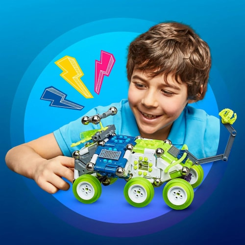 Mega Construx Magnext Rocky Rover 5 In 1 Spaceship Mag Explorers Building Toy Perspective: left