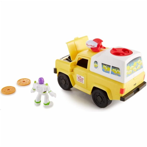 Fisher-Price Disney/Pixar Toy Story 4 Pizza Planet Truck Perspective: left