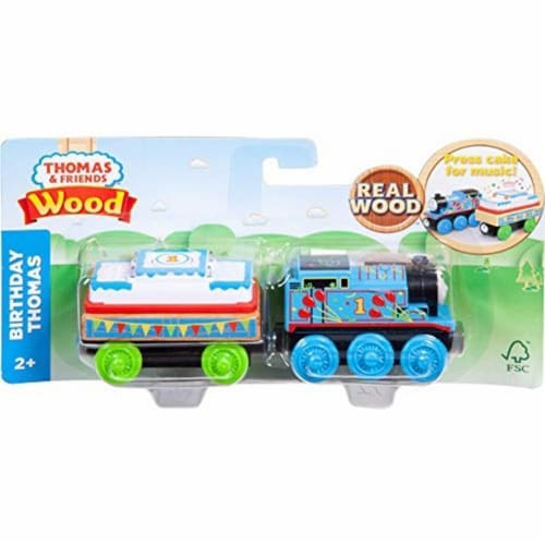 Thomas & Friends Fisher-Price Wood, Birthday Thomas Perspective: left