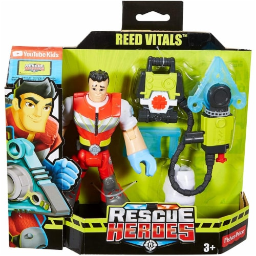 Fisher-Price® Rescue Heroes Reed Vitals Perspective: left