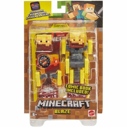Minecraft Blaze Figure Perspective: left