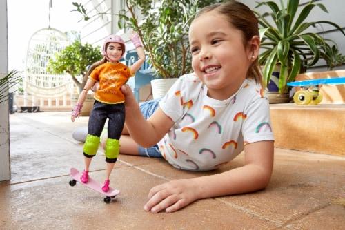 Mattel Barbie® Skateboarder Doll Set Perspective: left