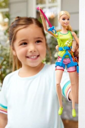 Mattel Barbie® Sport Climber Doll Set Perspective: left