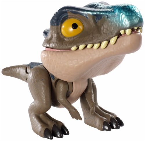 Mattel® Jurassic World Snap Squad Baryonyx DinosaurToy Perspective: left