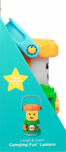 Fisher-Price® Laugh & Learn Camping Lantern Toy Perspective: left