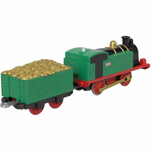 Thomas & Friends Fisher-Price Trackmaster Gina Motorized Toy Train Engine Perspective: left