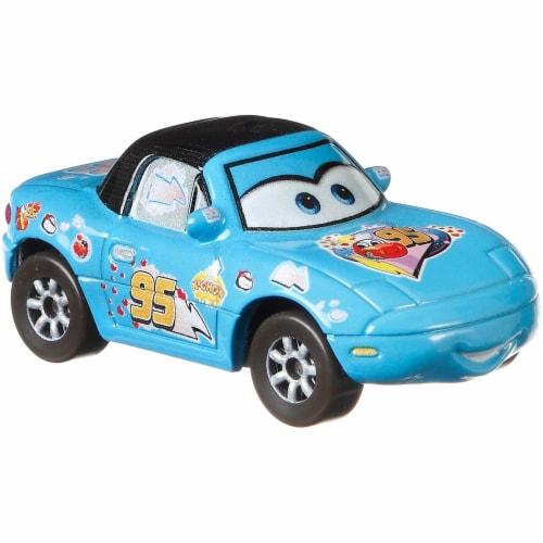 Disney and Pixar Cars Dinoco Mia & Dinoco Tia Toy Racers Perspective: left