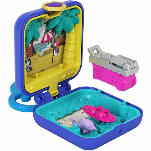 Mattel Polly Pocket Tiny Compact Playset - Assorted Perspective: left