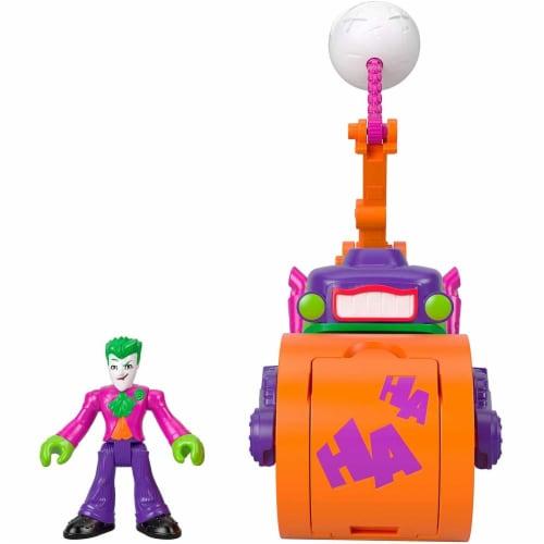 Fisher-Price® Imaginext DC Super Friends The Joker Steamroller Vehicle Perspective: left
