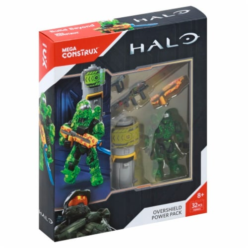 Mega Construx™ Halo Master Chief Overshield Power Pack Perspective: left