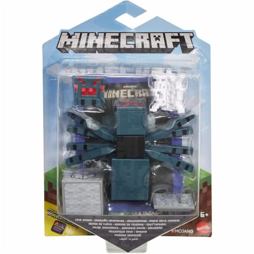 Minecraft Earth Cave Spider Figure Perspective: left