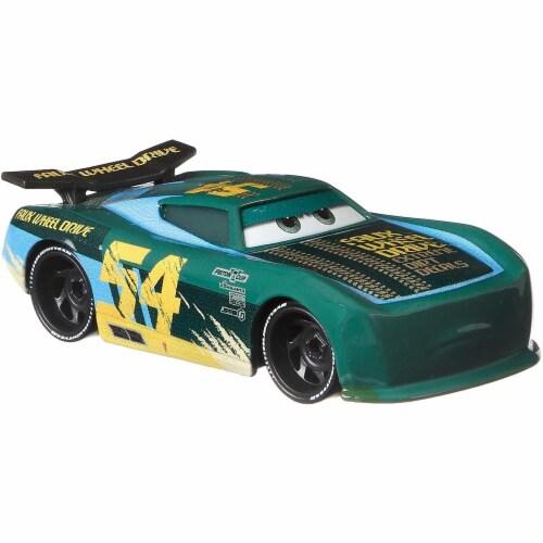 Disney Pixar Cars Herb Curbler & Michael Rotor Toy Racers Perspective: left