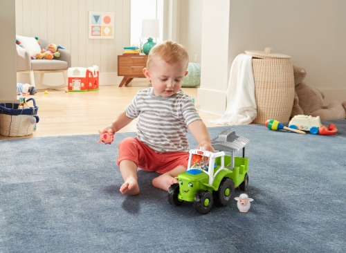 Fisher-Price® Little People Caring for Animals Tractor Perspective: left