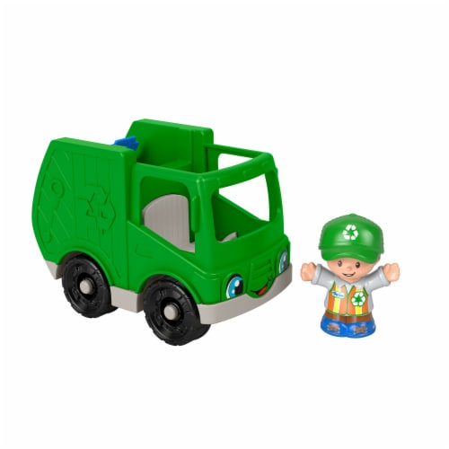 Fisher-Price® Little People® Recycle Truck Perspective: left