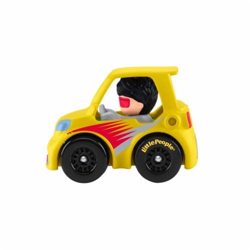 Fisher-Price® Little People Wheelies Micro Car Vehicle Perspective: left