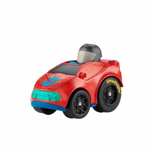 Fisher-Price® Little People Wheelies Super Car Vehicle Perspective: left