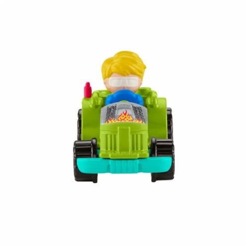 Fisher-Price® Little People Wheelies Racing Tractor Vehicle Perspective: left