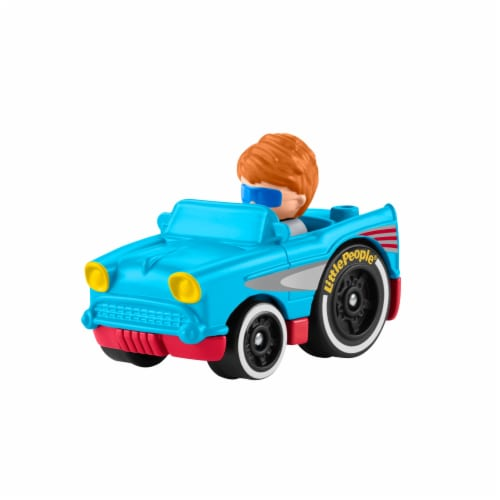 Fisher-Price® Little People Wheelies Retro Convertible Vehicle Perspective: left