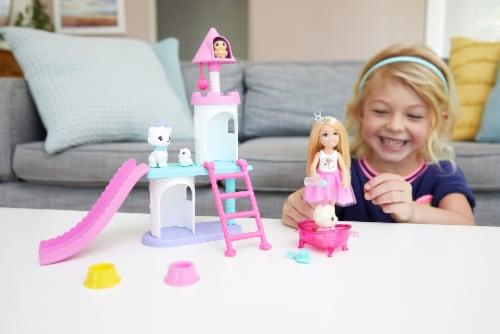 Mattel Barbie Princess Adventure Doll Playset Perspective: left