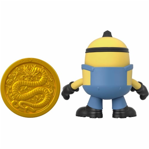 Fisher Price Despicable Me Minions: Rise of Gru Imaginext Otto with Coin Mini Figure Perspective: left