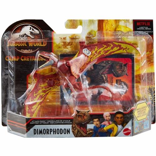 Jurassic World Attack Pack Dimorphodon Figure Perspective: left