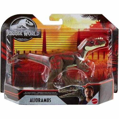 Jurassic World Attack Pack Alioramus Figure Perspective: left