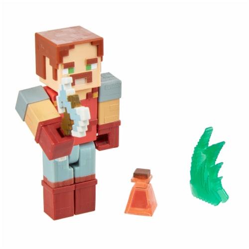 Mattel Minecraft Dungeons 325 Hal Figure Perspective: left