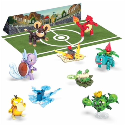 Mega Construx™ Pokemon Trainer Team Challenge Set Perspective: left