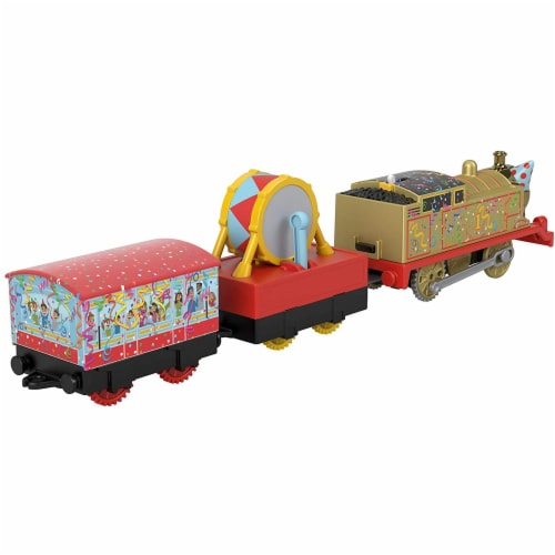 Thomas and Friends Golden Thomas Motorized Train Perspective: left