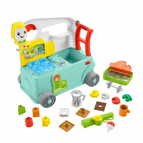 Fisher-Price® Laugh & Learn 3-in-1 On the Go Camper Perspective: left