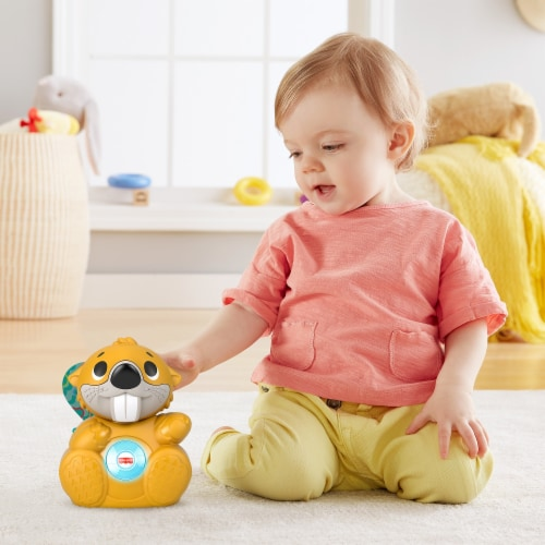 Fisher-Price® Linkimals™ Boppin Beaver Perspective: left