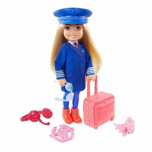 Barbie® Chelsea™ Career Doll Flight Attendant Doll Perspective: left