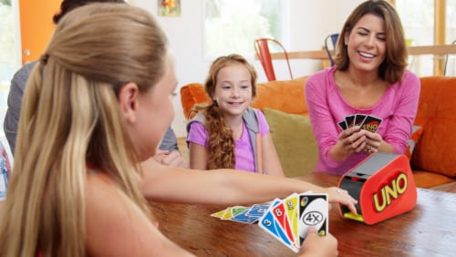 Mattel UNO Attack Card Game Perspective: left
