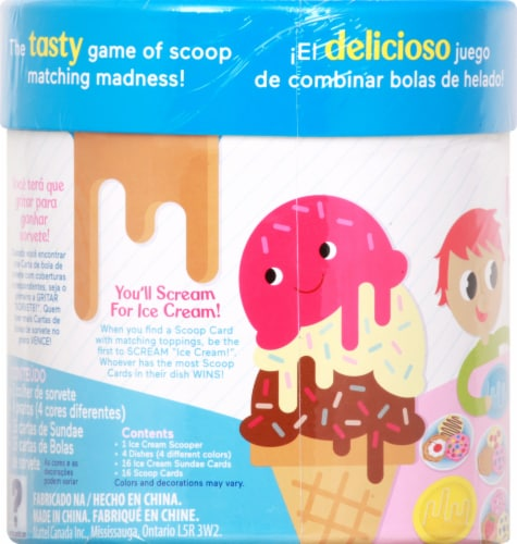 Fisher-Price® Ice Cream Scoops of Fun Game Perspective: left