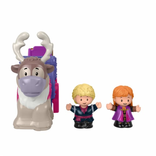 Fisher-Price® Little People Disney Frozen Anna and Kristoff Wagon Perspective: left