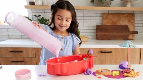 Mattel Barbie® Color Reveal Foam Doll Perspective: left