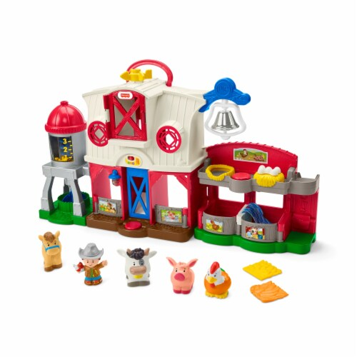 Fisher-Price® Little People Caring for Animals Farm set Perspective: left