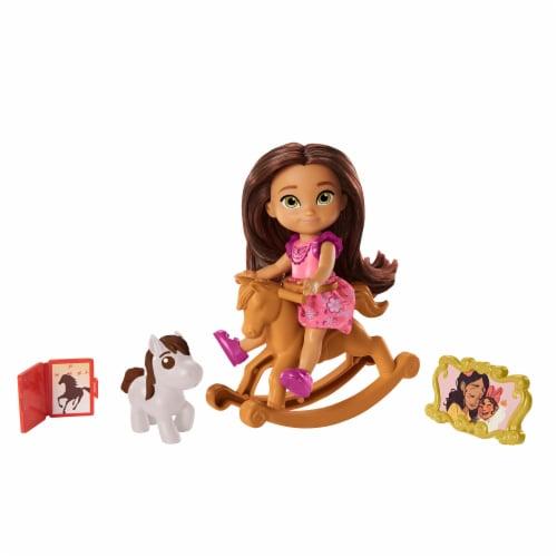 Mattel Spirit Untamed Lucky Doll Perspective: left
