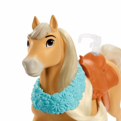 """Mattel Spirit Untamed Miradero Festival Prudence """"Pru"""" Granger & Chica Linda Doll Set Perspective: left"""